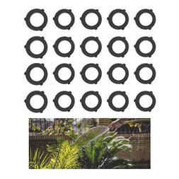 50 X Rubber Garden Water Hose Washer Sprinkler Nozzle Standa