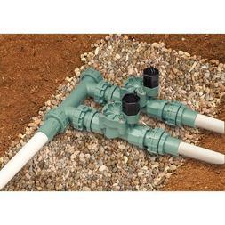 Orbit 57250 Heavy Duty Sprinkler Valve System, 2 Valves Inli