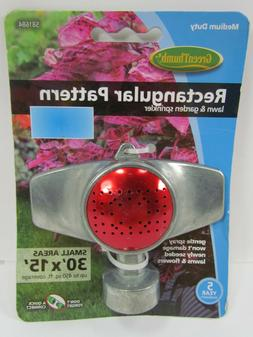 Green Thumb 581684 Metal Sprinkler Rectangle Pattern Covers