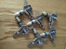 6 Rain Burst-20 Brass Impact Sprinkler Heads