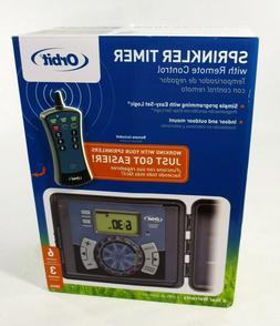 Orbit 6-Station Indoor/Outdoor Sprinkler Timer Mdl. 28566 No