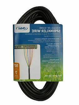 Orbit 7 Strand Conductor x 50' Irrigation Valve Wire, Sprink