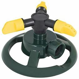 Melnor 872-6 3-Arm Rotary Lawn and Garden Sprinklers, 35'