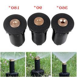 90-360° Sprinkler Lawn Watering Sprinkler Head Adjustable G