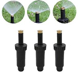 EXBOM 90/180/360 Degrees Retractable Sprinklers with Brass N