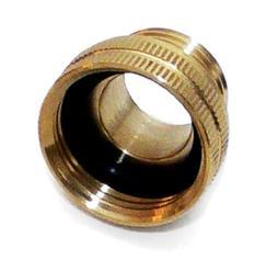 Underhill A-BA107FM Solid Brass Hose Adapter, Converts 3/4-I