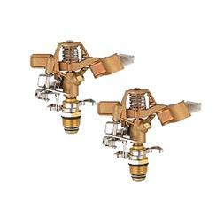A5001T Heavy Duty Brass Impact Head Sprinkler 0-360 Degree 2