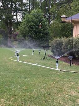 Above-Ground Portable Flexible Sprinkler System, Portable Ir
