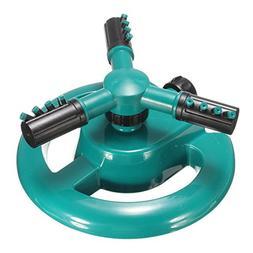 New ABS Garden Automatic 360 Degree Sprinkler Rotary Spray H