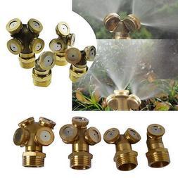 Adjustable Brass Spray Misting Nozzle Garden <font><b>Sprink