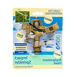 adjustable brass sprinkler head