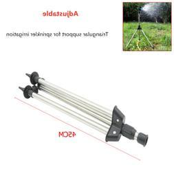 Adjustable Lawn Sprinkler Tripod Impact Garden Head Bracket