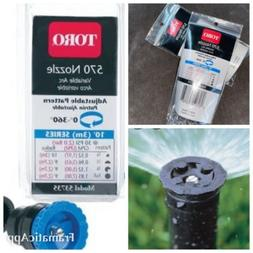 Toro Adjustable Nozzle 10' Adj Spray Clamshell