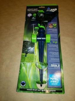 Adjustable Pulsating Lawn Impact Sprinkler Plastic Heavy Res