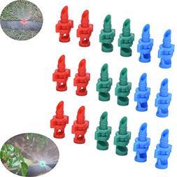 150Pcs Atomizing Garden Sprinkler Sprayer 90/180/360 Degree