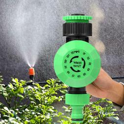 Auto Water Timer Garden Hose Faucet Sprinkler Irrigation Con