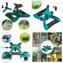 WongPing Automatic 360 Degree Rotating Sprinkler for Yard a