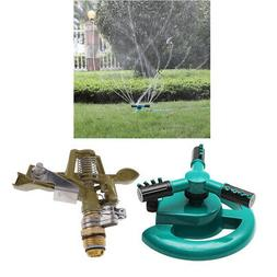 Automatic Agriculture Irrigation Set - Rotating Sprinkler &