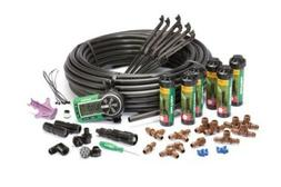 automatic in ground sprinkler system kit rotary