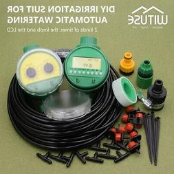 Automatic Micro Flow Drip Watering Irrigation System Plant N