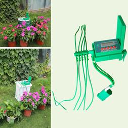 Automatic Plant Watering System Drip Irrigation Timer Garden