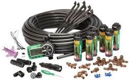 automatic underground yard lawn sprinkler system kit