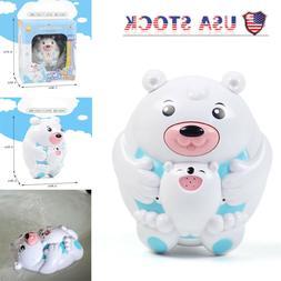 Baby Bath Fun Toy Water Spray Bear Set Children Kids Toddler