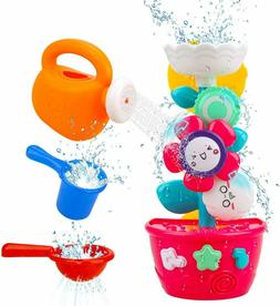 Baby Bath Toy Flower Pot Watering Can Mini Sprinkler Strong