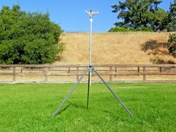 CORN SPRINKLER HUGE 100FT THROW 9FT HIGH TO THE NOZZLE TIP O