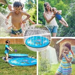 BEST Lawn Water Sprinkler for Kids Sprinkler Pad&Splash Play