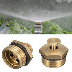 5Pcs 1/2 Inch Brass Atomization Spray Nozzle Garden Greenhou