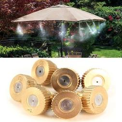 5Pcs 3/16 Inch Brass Atomization Spray Nozzles Garden Coolin