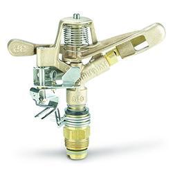 Rain Bird Brass Impulse Sprinkler Head Bronze 0, 3/4 50' Car