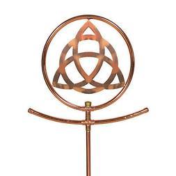 Celtic Knot Copper Decorative Sprinkler - Watering Spinning
