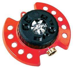 ColorStorm Turret Sprinkler with 9 Water Patterns, Heavy Dut