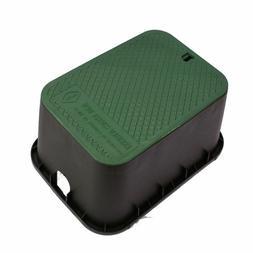 Control Valve Box Outdoor Garden Lawn Sprinkler Irrigation W