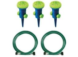 Ray Padula Create-A-Rain Deluxe 9-Pattern Sprinkler Kit With