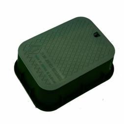 "12"" x 17"" x 6"" Deep Rectangular Extension Box Green Box-Gree"