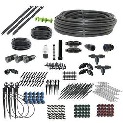 Deluxe Drip Irrigation and Microsprinkler Kit for Landscapes