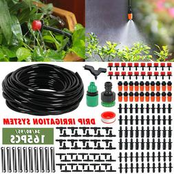 DIY Garden Micro Drip Irrigation System Plants Automatic Wat