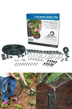 Drip and Micro Irrigation Sprinkler Kit Plant Watering Syste