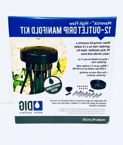 DIG PC14100 Drip Irrigation Kit, Black