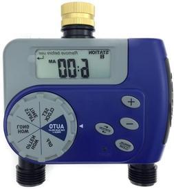 Orbit Dual Valve Digital Watering Hose Timer - Water Faucet