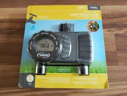 Orbit Digital Duel Hose Sprinkler Irrigation Timer Vacation