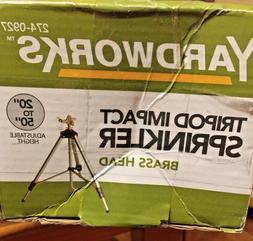 Extra Large Area Impulse Lawn Sprinkler Telescoping Tripod C
