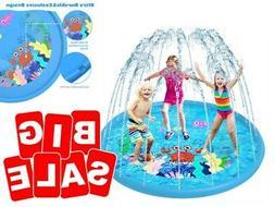 extra large fun sprinkler for kids play