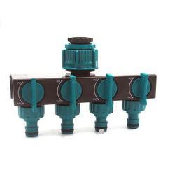 FA- Irrigation Sprinkler 4 Ways Tap Splitter Hose Faucet Con