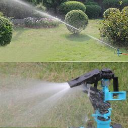 Farm Long Range Double Inlet Automatic Rotating Sprinkler In