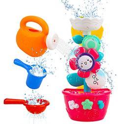 Flower Bath Toys Bathtub for Toddlers Babies Kids 1 2 3 Year
