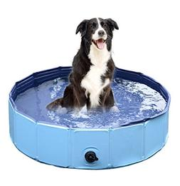 Foldable Dog Pet Bath Pool ,Collapsible Dog Pet Pool Bathing